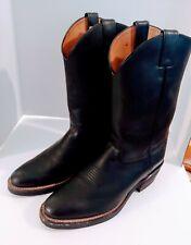 """Chippewa Mens Cowboy Boots Sz 11D Black Wellington 13"""" 26791 Biker Warrior"""
