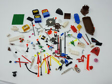 Lot Random Interesting Legos - Cups Gold Flowers Jewels Antennas Pirate Boat etc