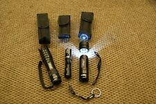 STURGIS MOTORCYCLE RALLY LOT OF 3 LED FLASHLIGHTS WITH NYLON HOLSTERS HARLEY
