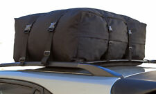 Car Van Suv Roof Top Cargo Rack Carrier Soft-Side Waterproof Luggage Travel Auto