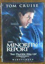 """Minority Report 2"" (2002) Tom Cruise - 2 Dvd Set - Steven Spielberg - Sealed"