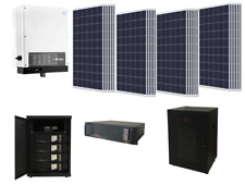 KIT 6KW ISOLA RETE 5KW INVERTER FOTOVOLTAICO BATTERIE LITIO 7,5KW CEI 021 MODULI