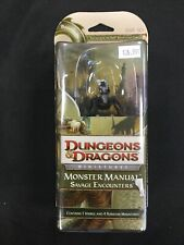 D&D Savage Encounters Booster Drider Fanglord Factory Sealed w/4 addt'l minis