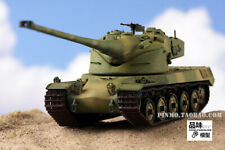 The finished turret can be turned 1/72 French AMX50 heavy tank world model