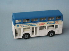 Matchbox MB-17 Titan Bus Space Decals Pre-Production RARE Pre-Pro Trial Blue