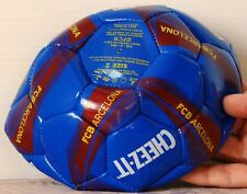 2012 NEW Advertising SOCCER BALL Barcelona Size 2 KEEBLER Cheez-It KELLOGG'S
