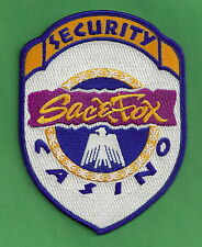 SAC & FOX TRIBAL CASINO SECURITY POLICE PATCH