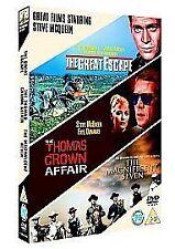 The Great Escape/The Thomas Crown Affair/The Magnificent Seven (DVD, 2006, 3-Di…