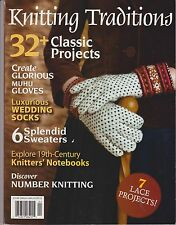 KNITTING TRADITIONS MAGAZINE FALL 2012, 32+CLASSIC PROJECTS, 6 SPLENDID SWEATERS