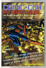 SDCC UPDATE #2 for 2002, NM, Spider-man, San Diego Comic Convention