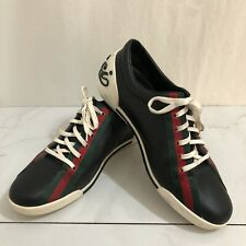 Gucci Boulevard Sneakers Web Stripe Mens Size 9 Shoes 157499