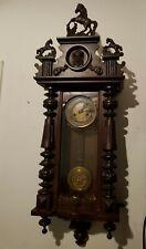Junghans Regulateur Antique Clock Antieke Klok