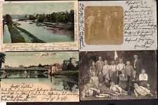 83254 4 AK Weissenfels Saale Brücke 1900