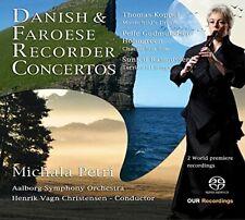 Michala Petri - Danish/Faroese Recorder Concertos [Michala Petri; [CD]