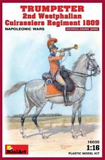 miniart Trumpeter 2º Westphalian Cuirassiers REGIMIENTO 1809 Napoleonic Wars 1: