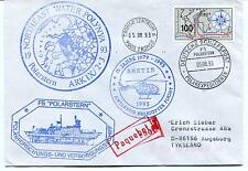 1993 Polarstern Water Polynya Helicopter Tromso PAQUEBOT Polar Antarctic Cover