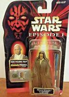 1999 Hasbro Star Wars Episode 1 Mace Windu Action Figure NIB