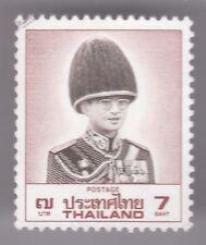 Thailand  7 Baht 1996 Used Postage Stamp - Golden Jubilee - Bhumibol Adulyadej