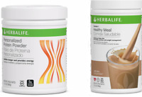 NEW HERBALIFE FORMULA 1 HEALTHY MEAL SHAKE AND  PERSONALIZED PROTEIN POWDER