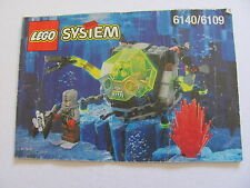 LEGO 6140 @@ NOTICE / INSTRUCTIONS BOOKLET / BAUANLEITUNG 1