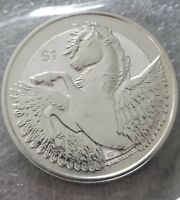 2019 1 oz .999 Silver British Virgin Islands Pegasus Coin MLP horse pony New
