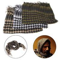 Military Tactical Keffiyeh Arab Scarf Hunting Cycling Head Shawl Wrap Army Camo