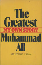 MUHAMMAD ALI SIGNED BOOK THR GREATEST MY OWN STORY IN PERSON RARE!!!!!!