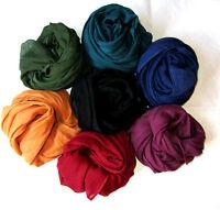 Baumwoll - Tuch Uni  Größe 100 x 100 / Schal / Bandana /Halstuch / Kopftuch