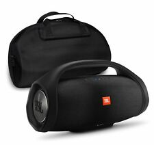 JBL Boombox Black Bluetooth Speaker & Fitted Hardshell Case