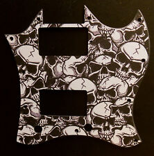 SKULL design Pickguard for Gibson SG Special, SGJ, SGM, 60s 70s & Future Tribute