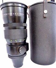 Pentacon 300 mm f4 M42 Mount 19 lame ouverture Manual Focus Téléobjectif + étui