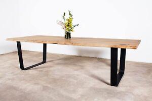 Tavolo in ROVERE RUSTICO - Design, artigianale, legno massello