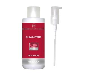 Silver Shampoo Silber Shampoo coloriert Haar 1000ml inkl. Pumpe Metamorphose