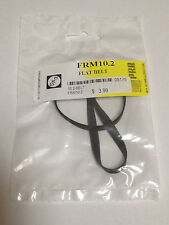 """10.2"""" IC Flat Rubber Replacement Belt for VCRs and More - FRM10.2 - NEW"""