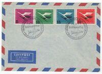 1955 Apr 4th. Commemorative Cover. Lufthansa. Start of German Air Traffic.