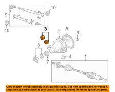 FORD OEM Axle-Rear-Axle Housing Insulator 2R8Z4B431AA