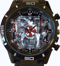 Resident Evil Umbrella New Gt Series Sports Unisex Gift Wrist Watch