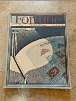 VINTAGE FORTUNE MAGAZINE FEBRUARY 1934 // AD's / Housing / US Rubber Corp