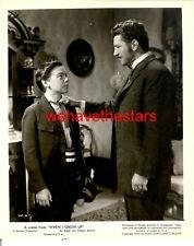 Vintage Bobby Driscoll Robert Preston CHILD STAR '51 Pub Portrait TRAGIC STAR