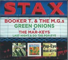 Booker T. & The MG's - Green Onions/Last Night + Do the Pop-Eye (2CD 2013) NEW