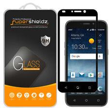 2X Supershieldz ZTE Maven 3 Full Cover Tempered Glass Screen Protector (Black)