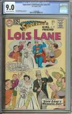 SUPERMAN'S GIRLFRIEND LOIS LANE #37 CGC 9.0 OW/WH PAGES