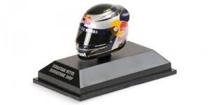1:8 Minichamps Casco Helmet Arai Sebastian Vettel Silverstone 2009 381090301 Mod