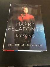 SIGNED 1st Edition My Song A Memoir by Harry Belafonte Yankees Hologram COA