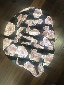 Pottery Barn Teen Emily Meritt Bed of Roses Beanbag Slipcover (Size Large)