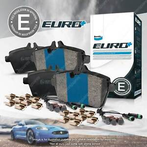 4 x Bendix Rear Euro Brake Pads for Mercedes Benz Valente Viano Vito Mixto