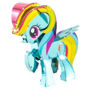 Fascinations Metal Earth My Little Pony RAINBOW DASH 3D Laser Cut Model Kit