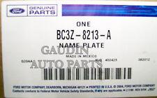 FORD OEM 11-16 F-350 Super Duty Grille Grill-Emblem Badge Nameplate BC3Z8213A
