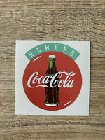 coca cola sticker pub always vintage ancienne autocollant aufkleber pegatina