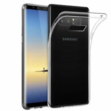 Custodia Cover Morbida Air Gel Slim Trasparente Anukku Per Samsung Galaxy Note 8